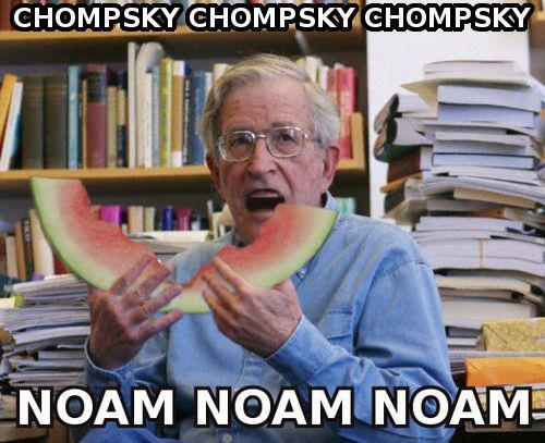 noam chompsky