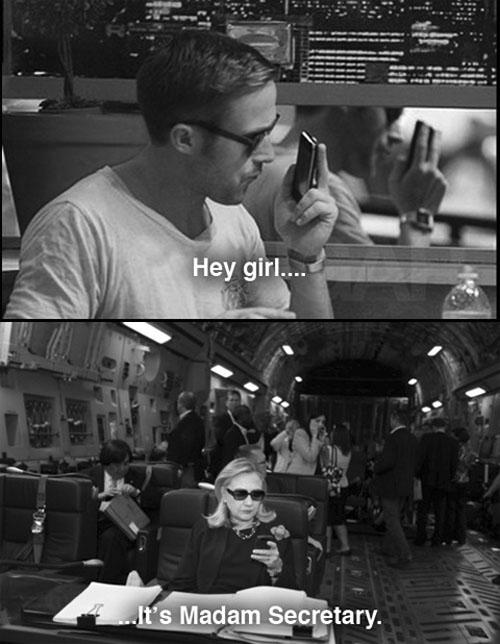 gosling clinton
