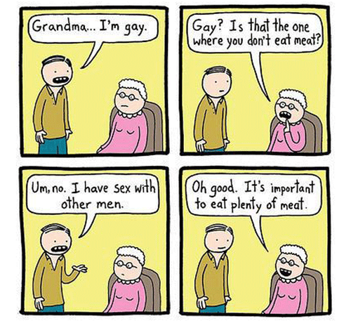 SATP gay meat grandma