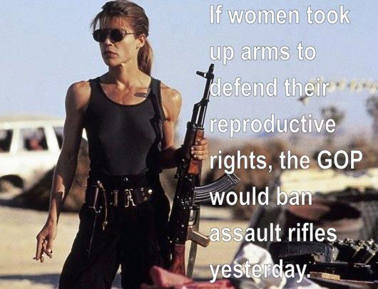 SATP guns reproductive rights