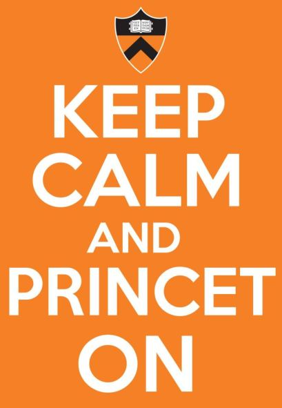 keep calm and princet on