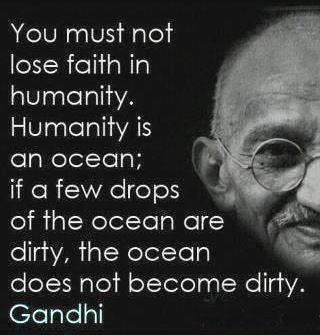 SATP gandhi quote